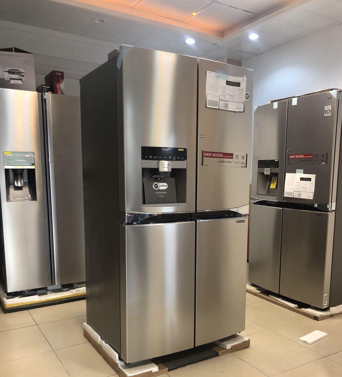 انواع یخچال فریزر های خارجی بدون ضمانت
