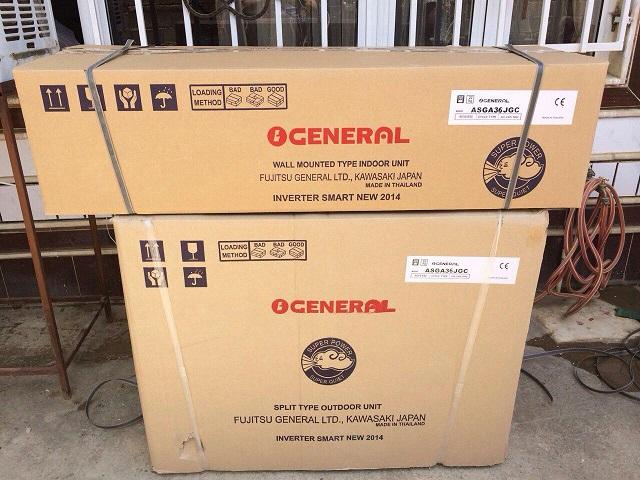 خرید انواع کولر گازی اجنرال در بانه