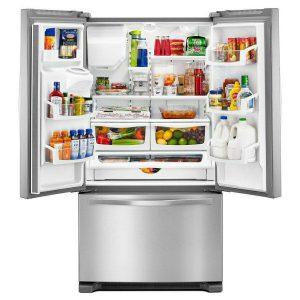 خرید یخچال ویرپول از بانه مدل فرنچ