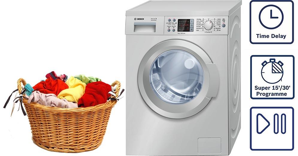 ماشین لباسشویی بوش 7 کیلویی اصل