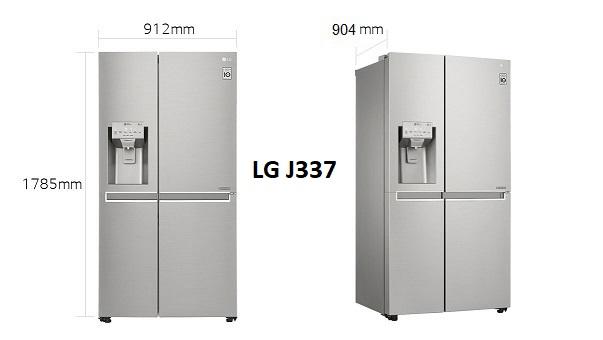 خرید یخچال 34 فوت مدل بنتلی GR-J337