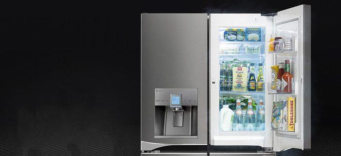 قیمت انواع یخچال ساید بای ساید 34 فوت