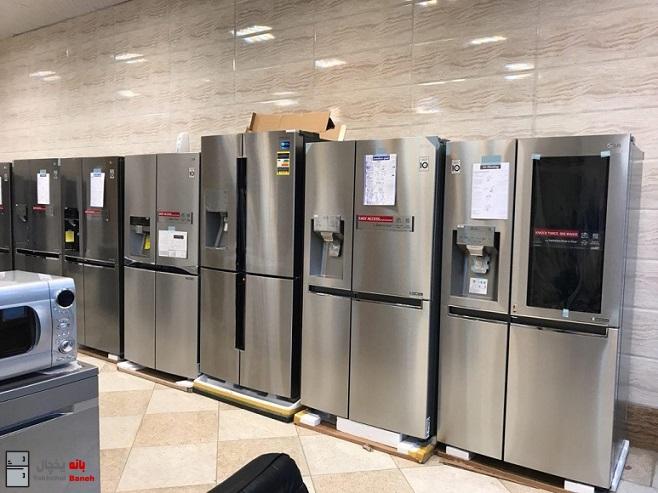 خرید یخچال ال جی در بانه با قیمت ارزان