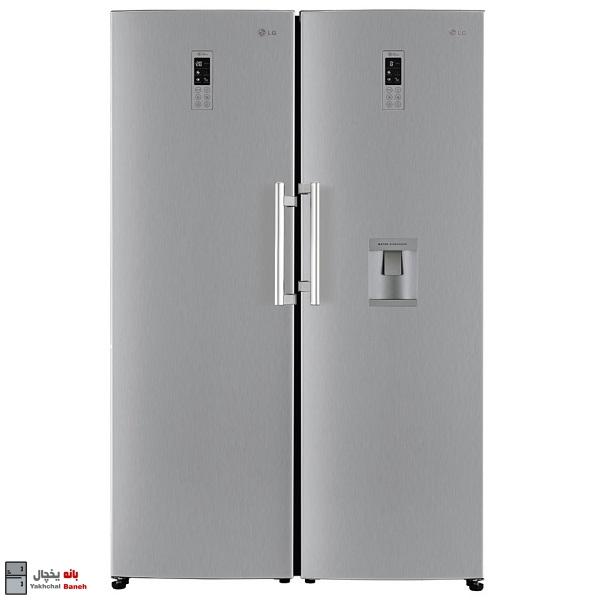 قیمت یخچال فریزر دوقلو ال جی مدل GR-F401ELNZ در بانه