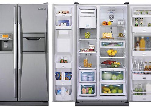 خرید یخچال ساید بای ساید دوو مدل FRS-2411EAL ظرفیت 32 فوت