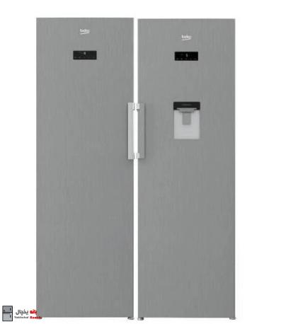 قیمت یخچال فریزر دو قلوی بکو مدل RSNE445