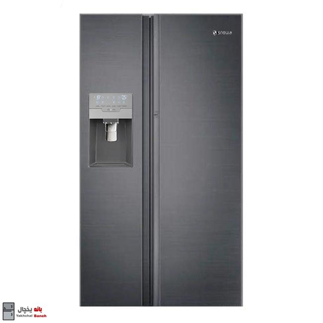 قیمت یخچال ساید بای ساید 32 فوت اسنوا مدل S8-3350SS