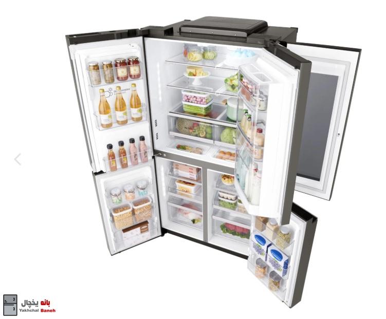 خرید یخچال ساید بای ساید ال جی مدل X29 از بانه