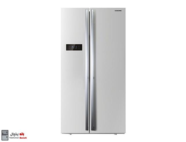 قیمت یخچال ساید بای ساید گوسونیک مدل GRF-6600 از بانه