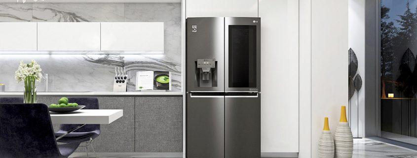 قیمت جدیدترین یخچال ساید بای ساید ال جی مدل x334