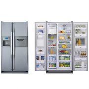 خرید یخچال ساید بای ساید دوو مدل 2611 از بانه