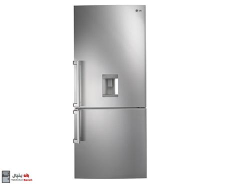 خرید یخچال دو درب بالا و پایین ال جی مدل GC-F689BLCZ