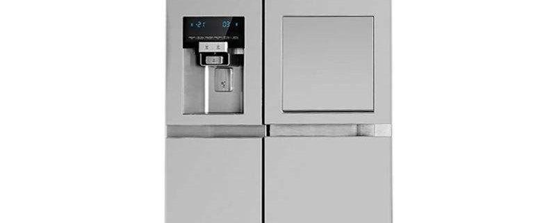 خرید یخچال و فریزر ساید بای ساید دوو مدل D2S-0033SS گنجایش ۳۰ فوت